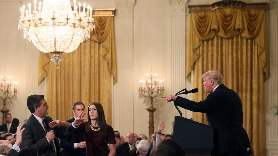 Who is Jim Acosta? What did he say which INFURIATED Trump?