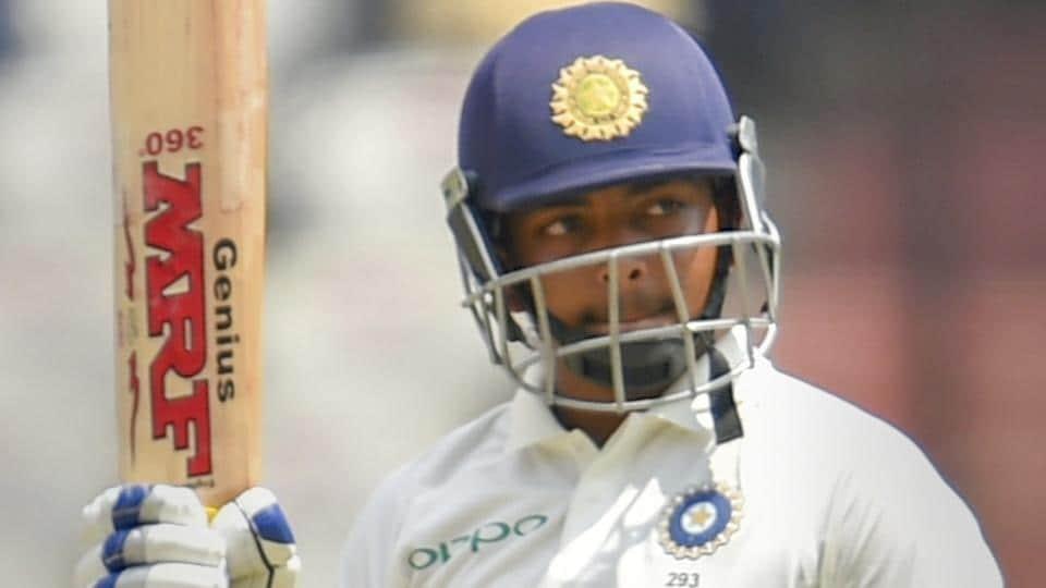 Prithvi Shaw,Sachin Tendulkar,India vs Australia