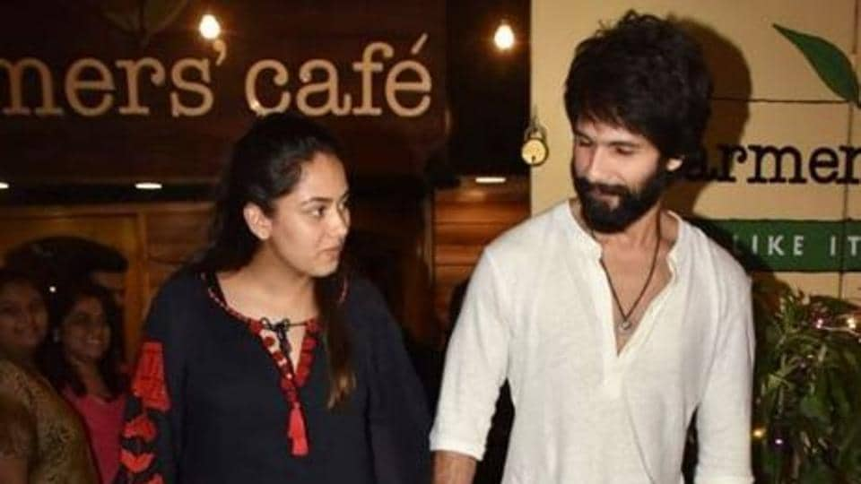 Mira Rajput And Shahid Kapoor Enjoy A Quiet Dinner Date After Diwali | Bollywood