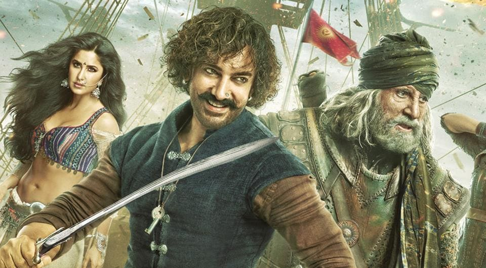 Thugs of Hindostan broke these 6 box office records on the first day of its rel...