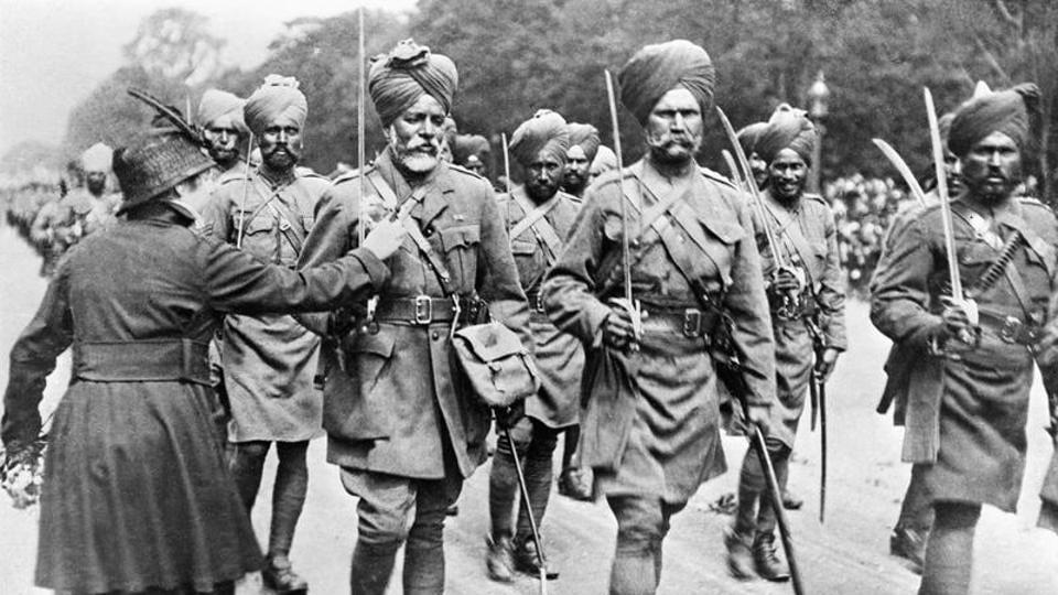Indian response to World War 1 variegated, literature
