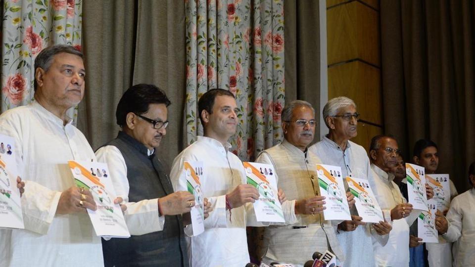 Chhattisgarh polls,Congress,Congerss manifesto