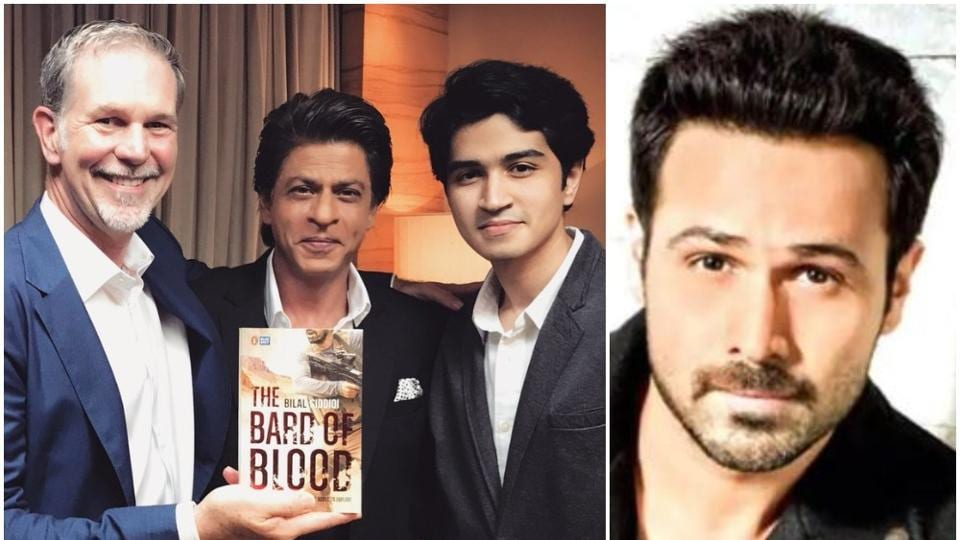 ShahRukhKhan's Red Chillies Entertainment is producing Netflix's Bard of Blood, based on a book by Bilal Siddiqi.