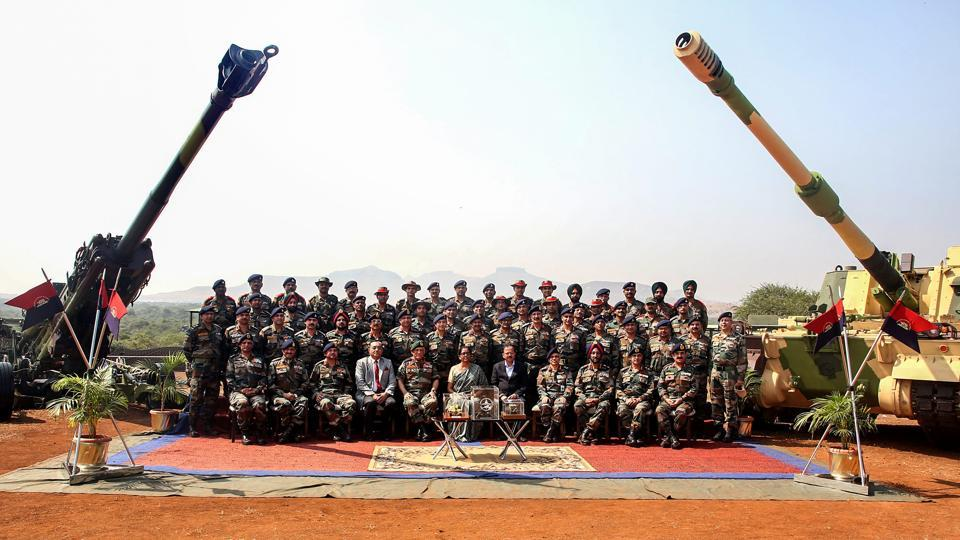 Nirmala Sitharaman,Indian Army,artillery gun systems