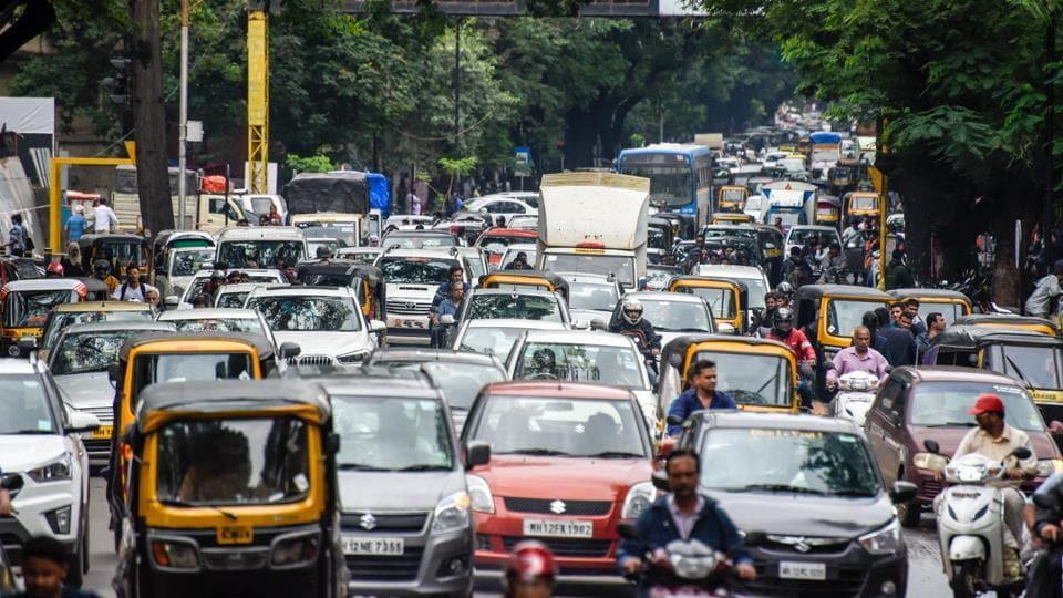 Pune,India,congested