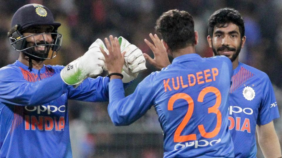 Bumrah, Umesh and Kuldeep Rested for Final Windies T20I; Kaul Drafted in