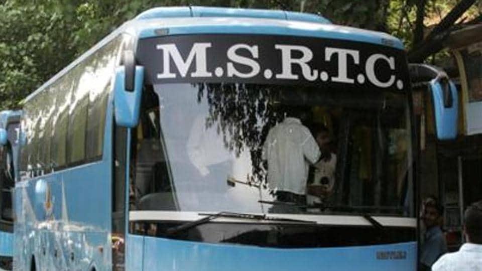 Pune,MSRTC,vandalising
