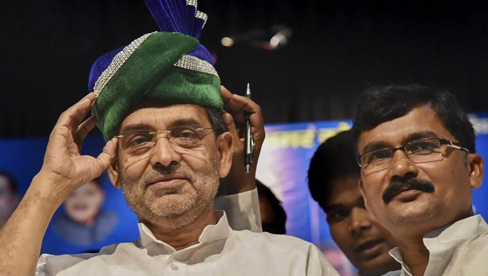 Union Minister and Rashtriya Lok Samata Party President Upendra Kushwaha