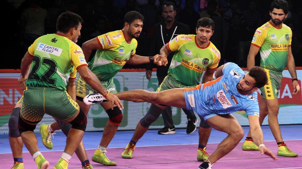 Pro Kabaddi League 2018,Patna Pirates,Bengal Warriors