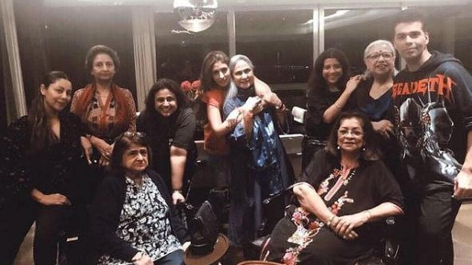 Karan Johar,Gauri Khan,Zoya Akhtar