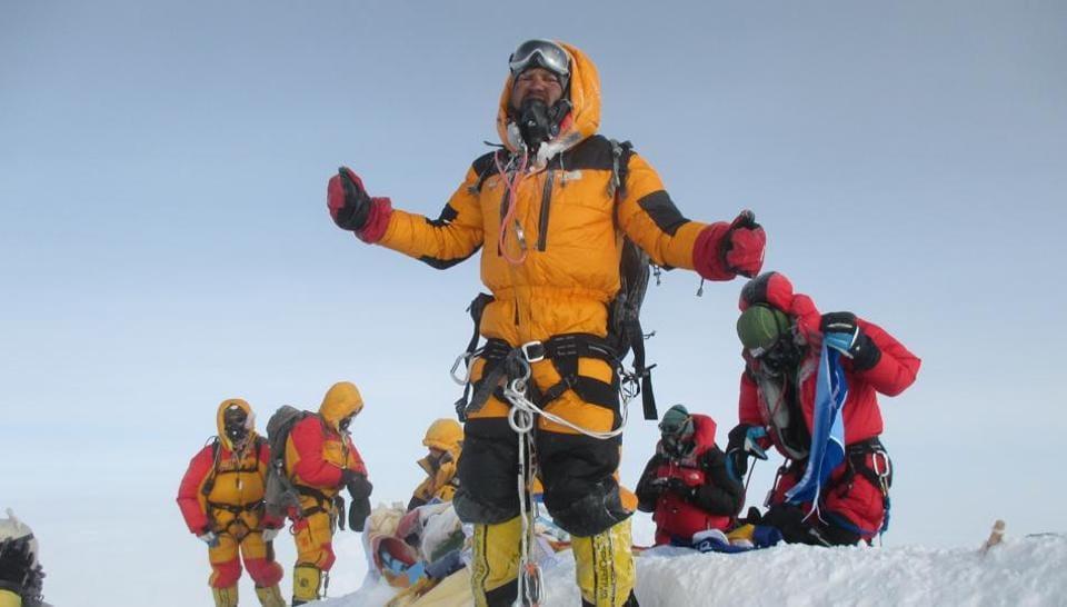 Satyarup Siddhanta,Mount,World Record