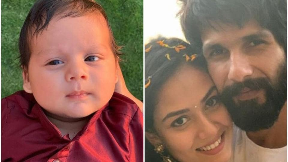 Mira Rajput Kapoor shares first picture of son Zain on Instagram