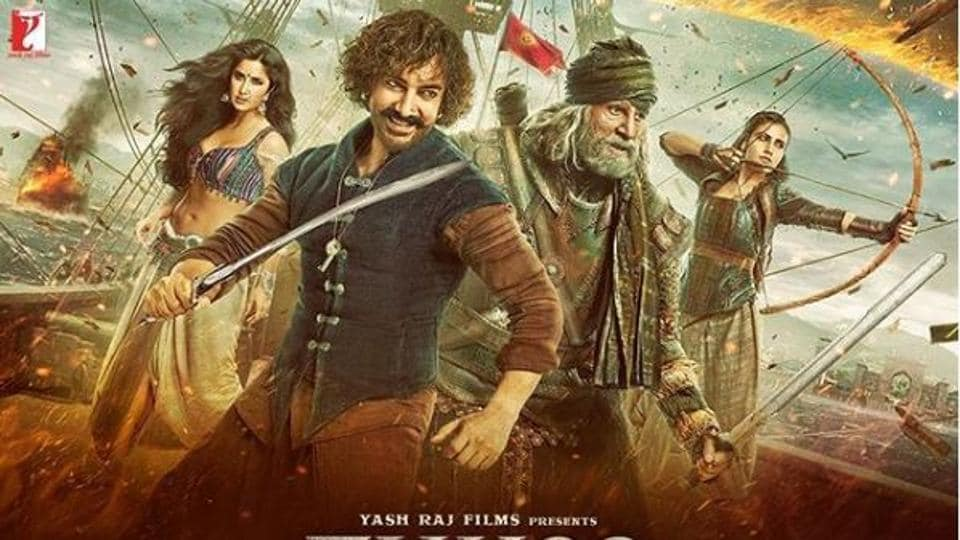 Thugs of Hindostan 2018 1080p WEBRip  Hindi Tamil Telugu English DD5-1 AAC x264