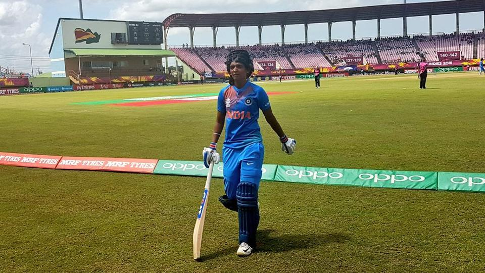 Harmanpreet Kaur became first Indian women to score a T20 hundred.