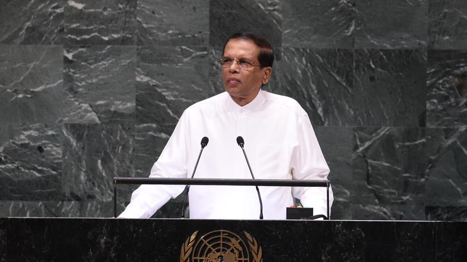 Sri Lanka President Maithripala Sirisena's decision to dissolve parliament has drawn criticism from Western powers, including the United States and Britain.
