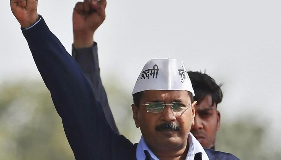 """The Delhi BJP)on Saturday attacked chief minister Arvind Kejriwal over his foreign visit, alleging that he has travelled to Dubai with """"a hidden agenda""""."""