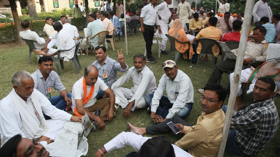 The BJP in Rajasthan launched 'Mera Parivar-BJP Parivar' campaign on Saturday to reach out to masses ahead of the assembly polls in the state.