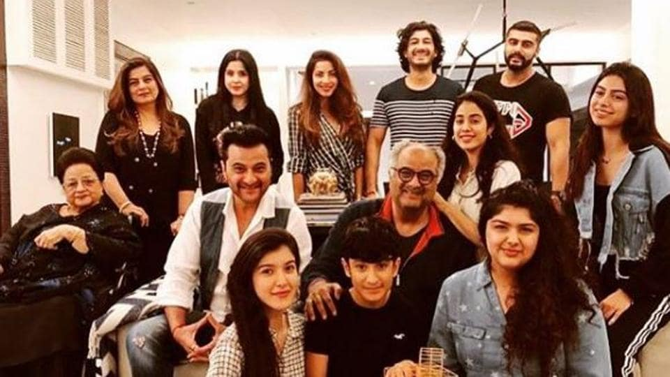 Anshula Kapoor wishes dad Boney Kapoor on his 63rd birthday, see photo