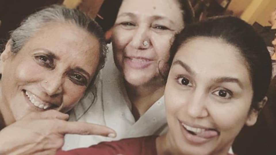 Huma Qureshi shares first set picture from Netflix's Leila