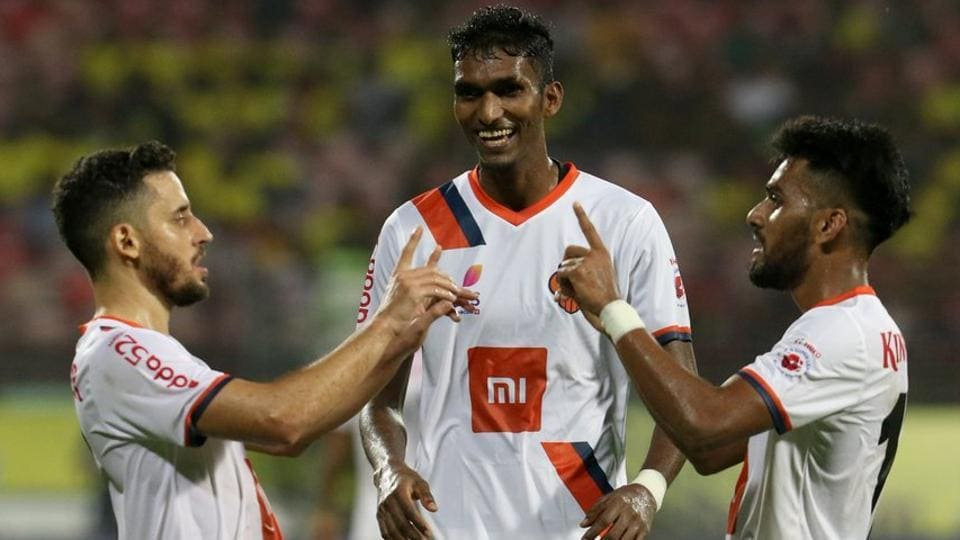 FCGoa defeated Kerala Blasters in their ISL2018 encounter.