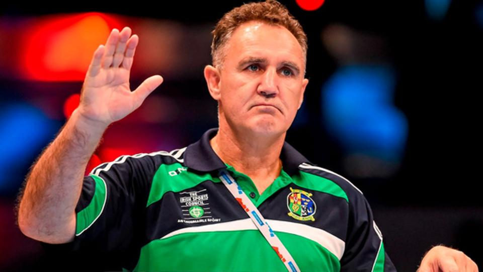 Billy Walsh,Boxing,Billy Walsh boxing