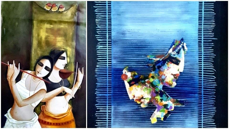 Mostly done in mix media on canvas, the works are not only technically sound but also reflect the range of experimentation by the artist.