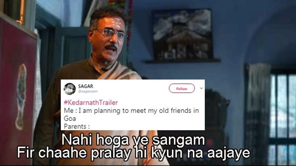 Kedarnath,Kedarnath trailer,Sushant Singh Rajput