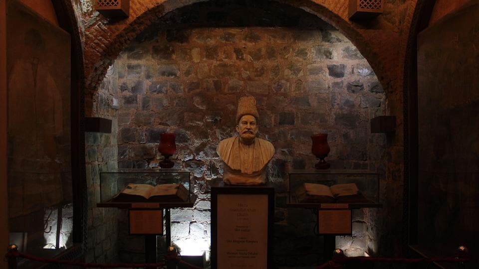 Ghalib Ki Haveli at Ballimaran in Chandni Chowk, Old Delhi, India (Shivam Saxena/Hindustan Times)