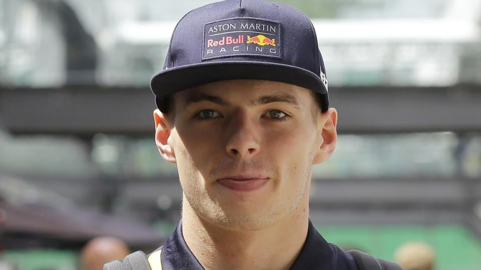File picture of Red Bull driver Max Verstappen