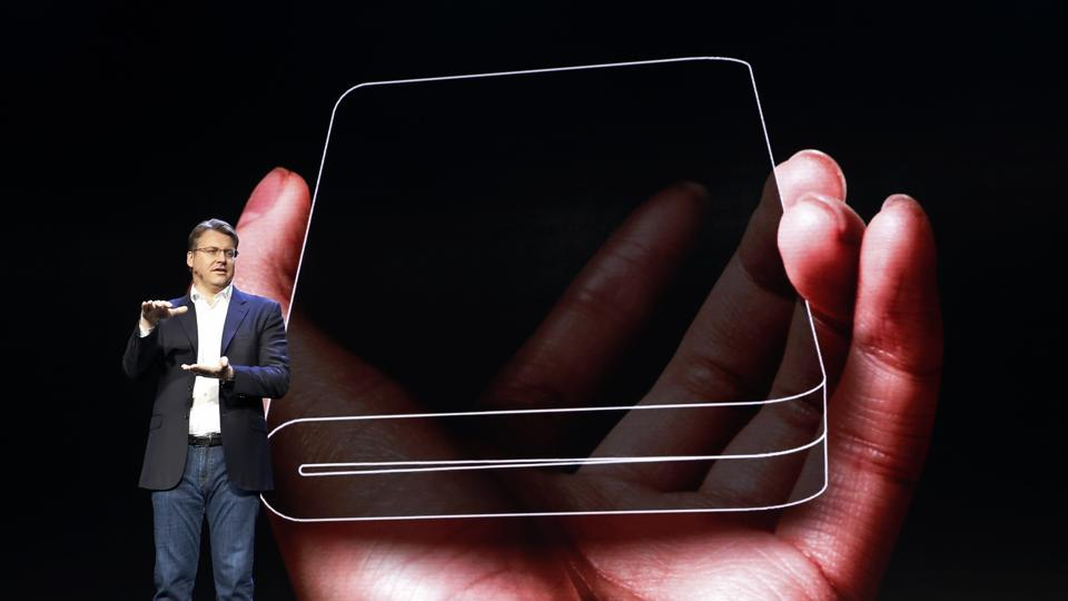 Samsung foldable smartphone named, priced and unveil dated
