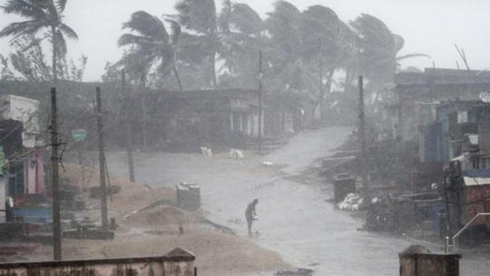 The cyclonic storm Gaja has moved further in towards coastal Andhra Pradesh and Tamil Nadu and is likely intensify into a severe cyclonic storm during next 24 hours