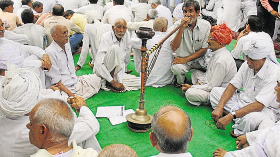 The 'sarv-khap' panchayat in Haryana's Charkhi village, many resolutions were passed including ban on gay sex and live-in relationships.