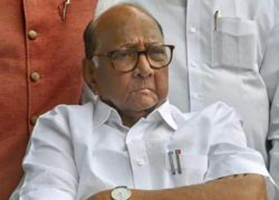 National Congress Party (NCP) chief Sharad Pawar.