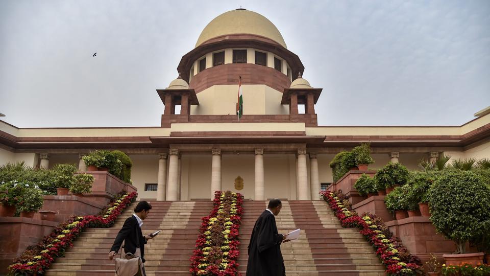 A view of Supreme Court of India in New Delhi, Thursday, Nov. 1, 2018.