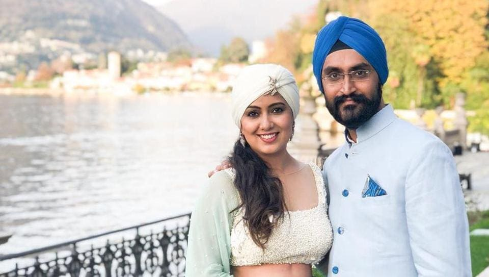 Harshdeep Singh shared a picture from the wedding sangeet venue of Deepika Padukone and Ranveer Singh.
