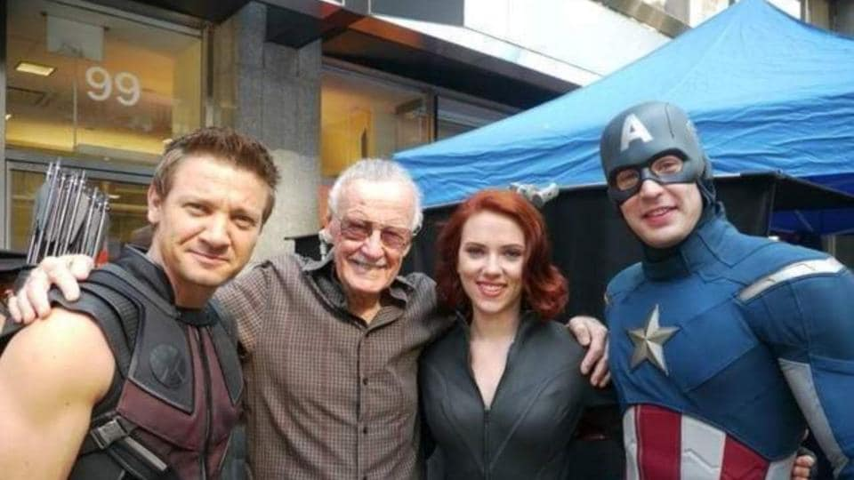 Image result for avengers and stan lee