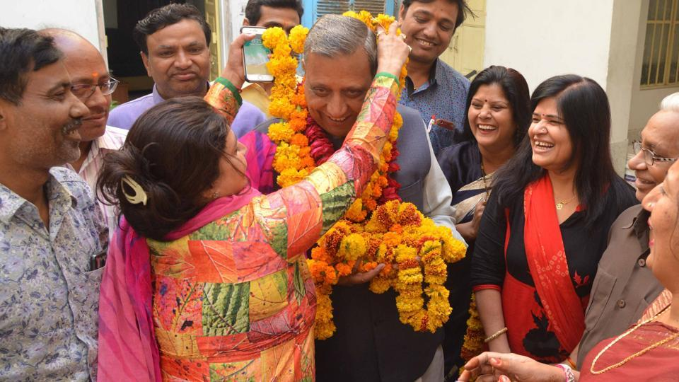 6 Jaipur MLAS retained in BJP's first list for Rajasthan assembly polls, supporters celebrate | rajasthan elections