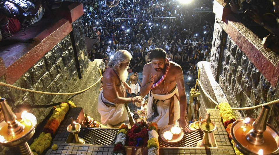 The Supreme Court on Tuesday agreed to hear on January 22 a batch of review petitions against its verdict allowing entry of women of all age groups into the Sabarimala temple.The apex court said however that there will be no stay on the September 28 verdict which allowed entry of women in the shrine. (PTI File)