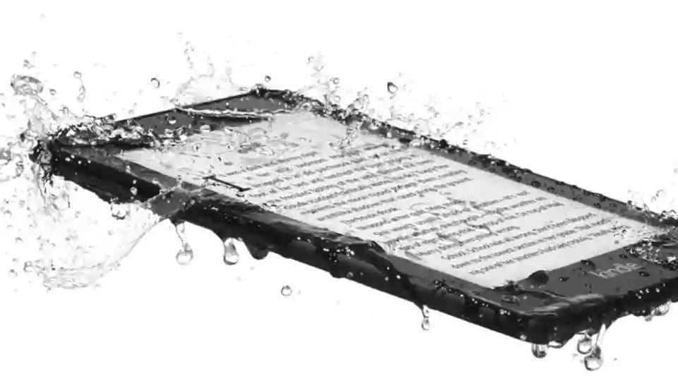 New Kindle Paperwhite has thinner and lighter design with sleek flush-front display and water-proofing.
