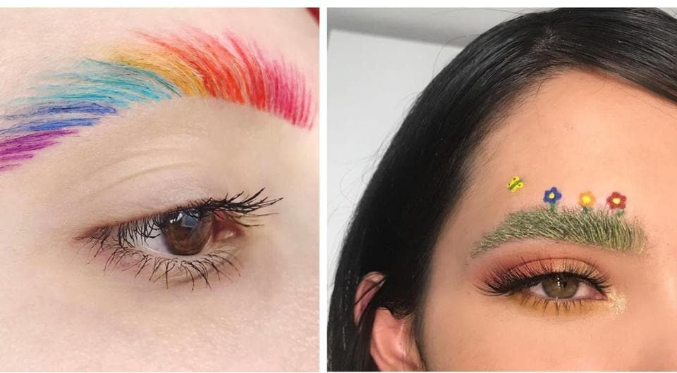 It's all in the brow - try these new trends in eyebrow fashion