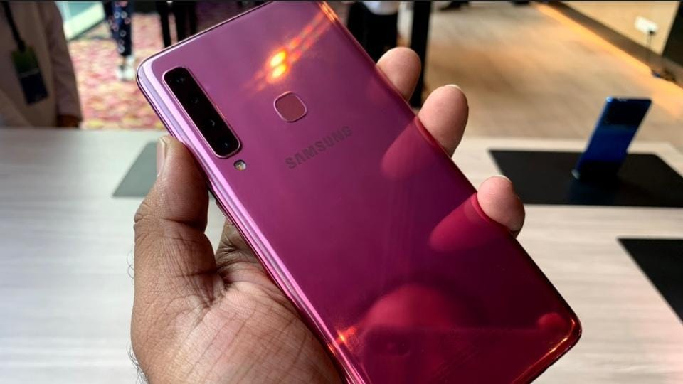 Samsung Galaxy A9 2018 comes with 6.3-inch Full HD+ Super AMOLED Infinity display.