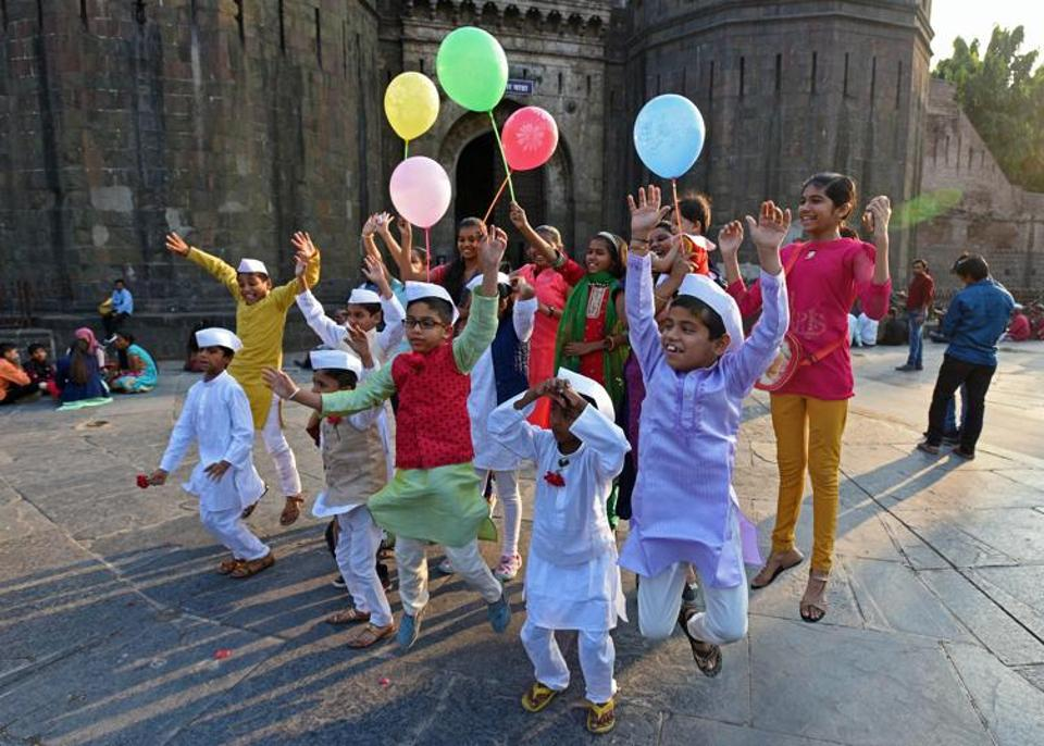 November 14 is celebrated as Children's Day to mark the birth anniversary of Jawaharlal Nehru, the first Prime Minister of India. (Pratham Gokhale/HT Photo)