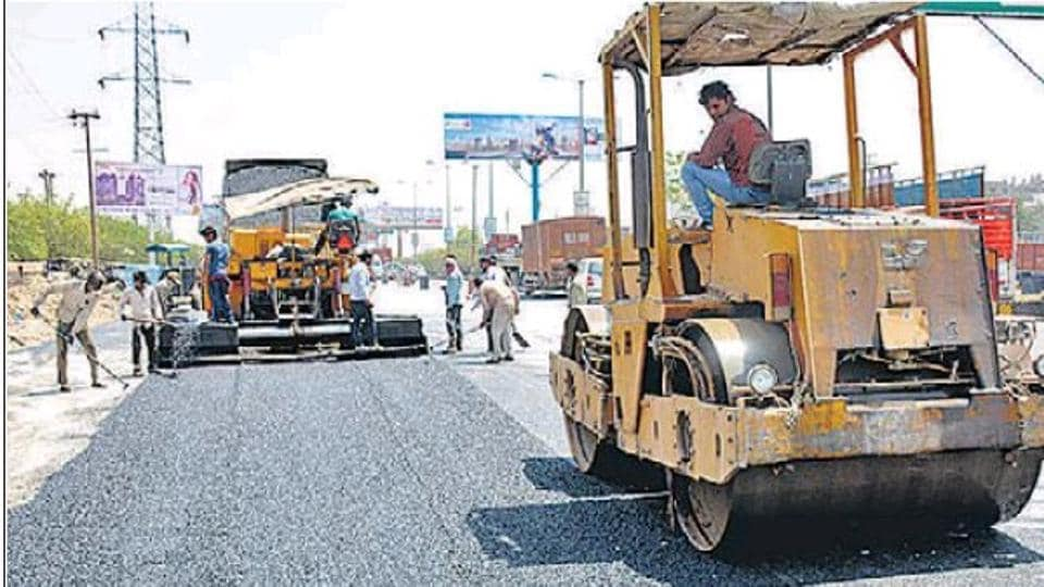 The first phase under the Bharatmala project has an estimated investment outlay of Rs 5.35 lakh crore.