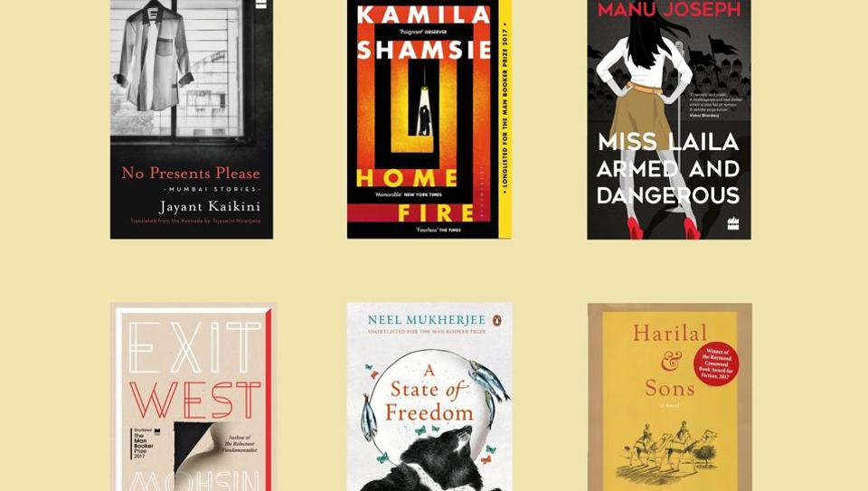 The six shortlisted titles of DSC Prize for South Asian Literature 2018