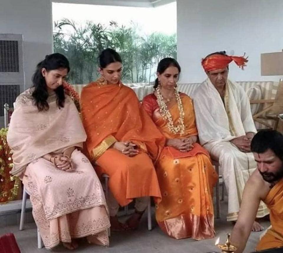 Deepika Padukone-Ranveer Singh Sindhi wedding highlights: First pics