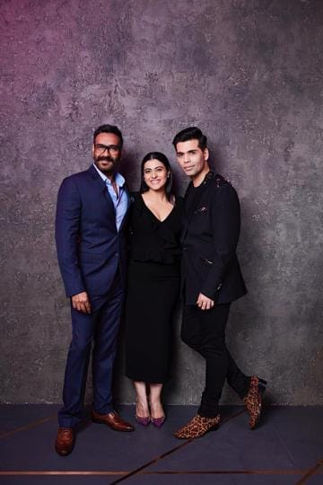 Karan Johar to sip coffee with Kajol and Ajay Devgn on Koffee With Karan two years after their public fight thumbnail
