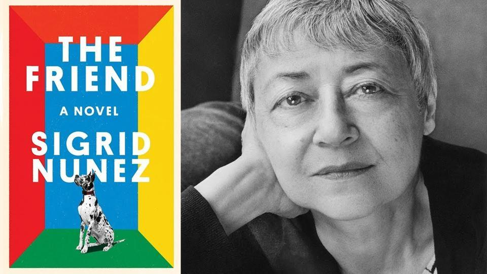 The Friend, by Sigrid Nunez is an extraordinary tale of love that's won the National Book Award in the Fiction category.