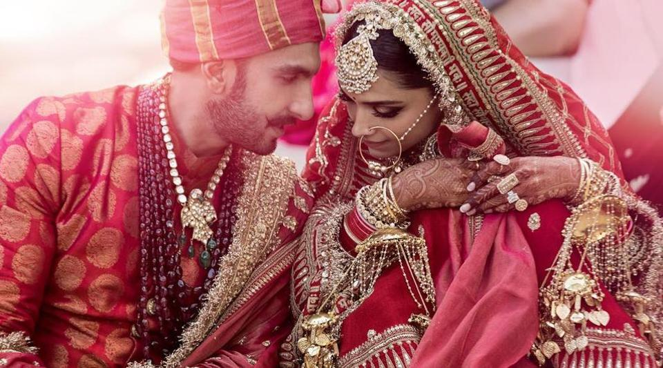 Deepika Padukone S Bridal Dupatta With A Sanskrit Quote Is A
