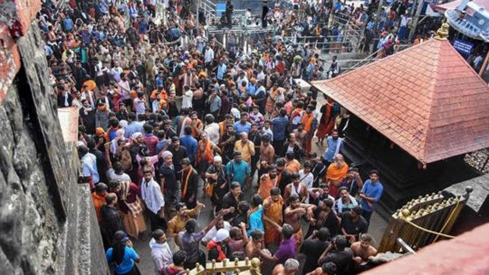 Sabarimala temple became a flashpoint after battles erupted the first time women attempted to enter it following the historic Supreme Court ruling allowing women of all ages to enter the shrine.