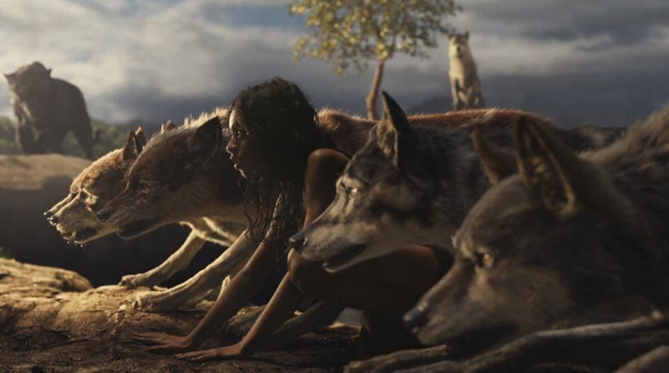 Rohan Chand as Mowgli in the Netflix film Mowgli: Legend of the Jungle.